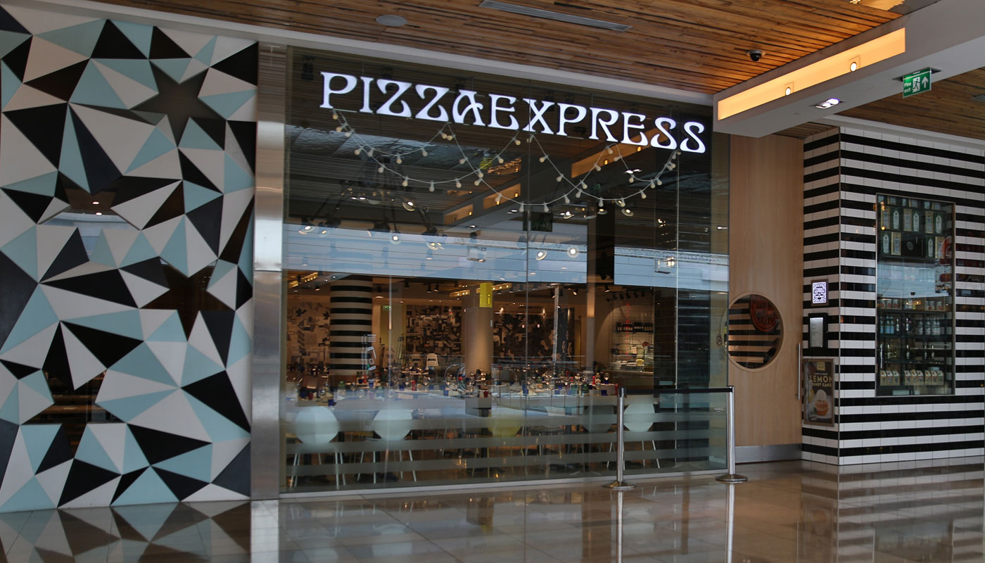 Restaurant Custom Signs Pizza Express Technical Signs