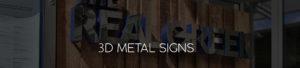 3D Metal Signs Page Header