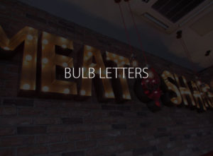 Bulb Letters