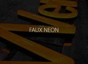 Faux Neon