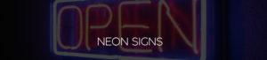 Neon Signs Header Image