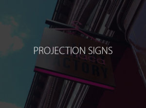 Projection Signs