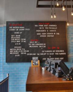 restaurant and bar signage image 24