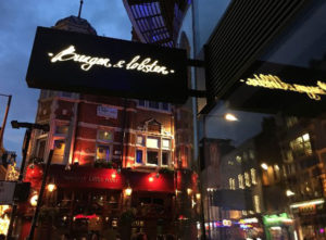 Burger and Lobster Signs Portfolio 8