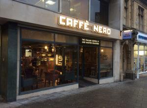 Caffe Nero Signs Portfolio 2