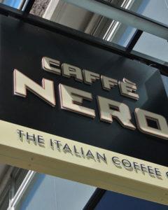 Caffe Nero Signs Portfolio 5
