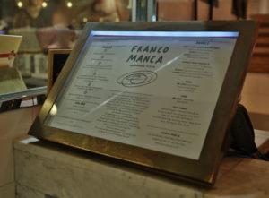 Franco Manca Signs Portfolio 8