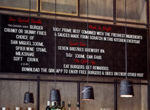 Gourmet Burger Kitchen Signs Portfolio 11