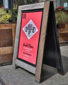 Gourmet Burger Kitchen Signs Portfolio 19