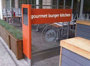 Gourmet Burger Kitchen Signs Portfolio 3
