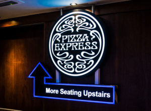 Pizza Express Signs Portfolio 1