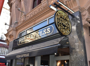 Pizza Express Signs Portfolio 3