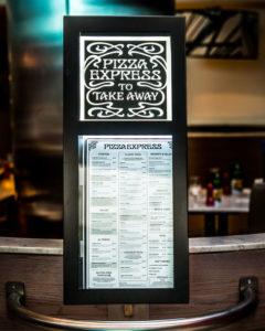 Pizza Express Signs Portfolio 5