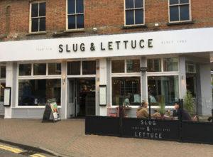 Slug and Lettuce Signs Portfolio 3