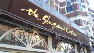 Slug and Lettuce Signs Portfolio 4