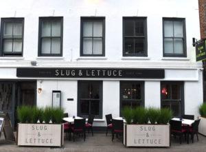 Slug and Lettuce Signs Portfolio 6