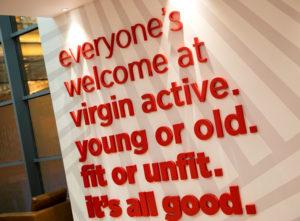 Virgin Active Signs Portfolio 2