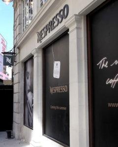 Nespresso Signs Portfolio 5