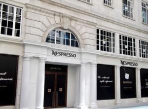 Nespresso Signs Portfolio 7