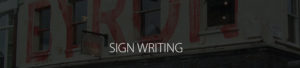 Sign Writing Page Header Image