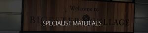 Specialist Materials Image Header