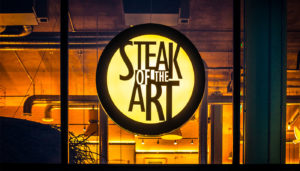 Steak of the Art Signs Portfolio 4