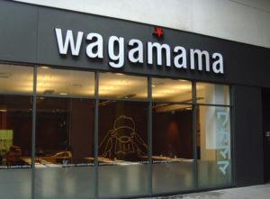 Wagamama Signs Portfolio 3