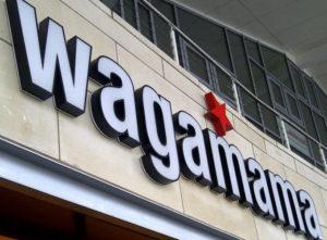 Wagamama Signs Portfolio 7