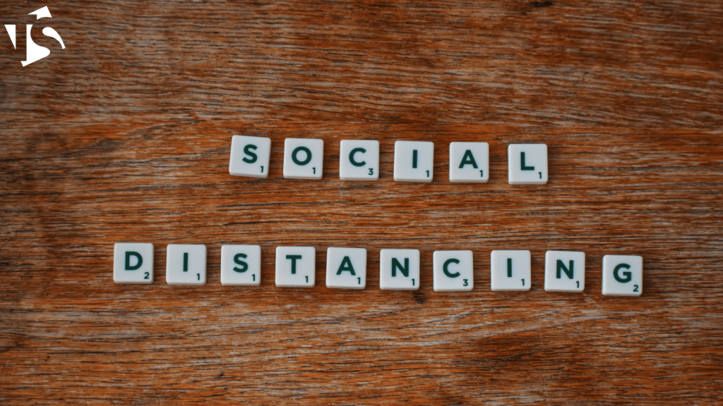 use creative signage to aid social distancing