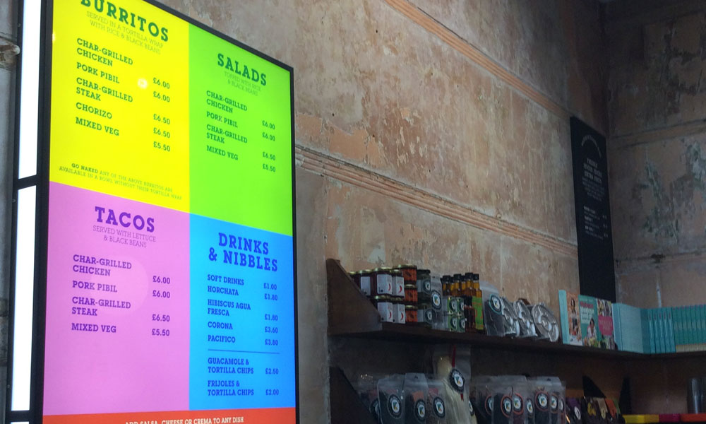 Top Reasons why Menu Boards are Important to Restaurants