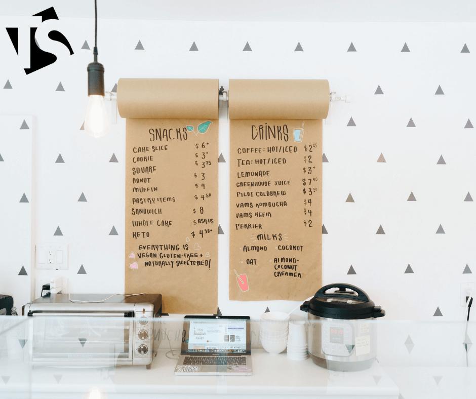 inspiring menu boards