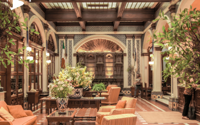 Why Lovely Lobbies to Welcome Guests Are Now More Important Than Ever