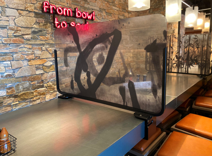 Restaurant Covid Screens Image 9