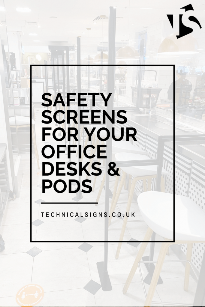 Safety screens protect your workspace