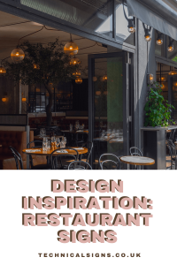 Stand out with this restaurant sign inspiration
