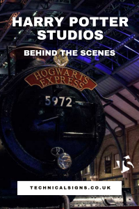 Harry Potter Studios Behind The Scenes 1