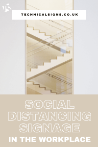 How to Promote Workplace Social Distancing with Signage 1