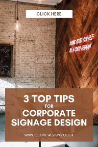 Blog Post Advertising 3 Top Tips Corporate Signage Design